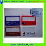 بلاستيكيّة بطاقة مقبض فرينيل مكبّر مع [بفك] صفح ([هو-802])