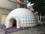 tienda inflable de la bóveda del iglú de la tienda del diámetro 10m