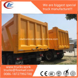60tons resistente ao caminhão de descarga da mineração de 80tons 5axles 10X6 LHD