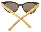 Las nuevas gafas de sol del acetato de la manera de las mujeres de Cateye Hotsale del diseño Fa17918 polarizaron la lente