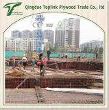 Film gegenübergestelltes Furnierholz verwendet für Aufbau-Furnierholz-Beton-Verschalung