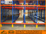 Racking de aço do armazenamento da pálete do racking da canela do rádio do Shelving do armazém