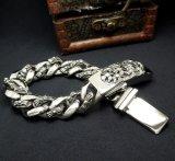 남녀 공통 쏘시개 나무 & 바위 작풍 형식 ID 팔찌 바디 티타늄 보석