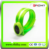 Wristband do RFID Silicone Design Ajustável 13.56MHz
