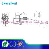 Potenciómetro del interruptor rotatorio de Wh148 0.125W 10k
