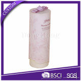 Tube d'emballage en carton blanc mat blanc
