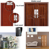 Systèmes de sécurité visuels de maison de Bell de porte de téléphone visuel de porte d'identification de 7 pouces