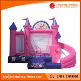 スライドのコンボのおもちゃ(T3710)を持つInflatable Jumping Bouncy Castle王女
