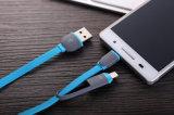 2 in 1 Mfi Diplom-USB-Aufladungs-und Daten-Kabel für iPhone und Android