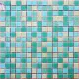 Mozaïek van het Glas van de Kleur van het Ontwerp van Italië het Blauwe voor de Keuken van de Badkamers