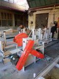 A tabela de deslizamento de madeira de trabalho da estaca da precisão da proteção ambiental da madeira do registro do produto novo viu a máquina