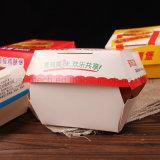 Impression couleur complète Personnalisé Eco-Friendly Hamburger / Emballage alimentaire Boîte pliante