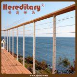 304/316 Balustrade van het Roestvrij staal voor het Traliewerk van het Dek van het Netwerk van de Draad (sj-H083)