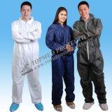 PP+PE는 작업복을 방수 처리하거나 한 벌 안전 작업복을 작동한다