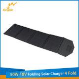 Nuovo prodotto 50W 18V che piega la volta solare del caricatore 4 da vendere