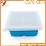Bandeja de encargo del cubo de hielo del silicón de la categoría alimenticia de la alta calidad