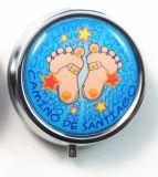 記念品のギフト-ポータブル3スロット医学の薬剤の薬の記憶のケースのオルガナイザーの丸薬ボックス広告する