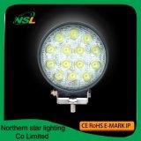 Luces de trabajo Accessories42W auto 614PCS * viga del LED de la inundación del punto de 3W Epistar