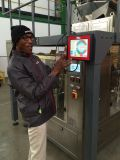 Máquina de embalagem automática para cogumelos