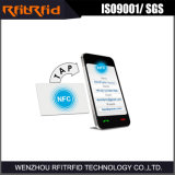 13.56 carte de visite professionnelle de visite de papier de mégahertz NFC