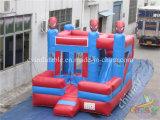 Precio de Fábrica Hombre araña Combo Inflable / Bouncy Slide Combo