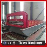 Walzen gewölbtes Aluminium galvanisiertes Eisen-Dach-Fliese-Blatt die Formung der Maschine kalt