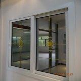 Het hoogste Glijdende Venster van het Glas van Lowes van het Frame van het Profiel van pvc van China voor Gebruikte Villa