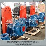 Pompe horizontale centrifuge Anti-Abrasive de boue d'étape simple