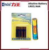 Talla estupenda de las baterías Lr03 1.5V AAA de la pila seca del acumulador alcalino