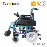 Bateria destacável da Samsung com cadeira de rodas elétrica dobrável com avião Trip Tew022