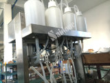 Remplissage d'eau moussant sous vide semi-automatique