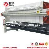 Máquina popular de la prensa de filtro para el tratamiento de Watewater