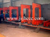 pont en structure métallique 900t érigeant la machine