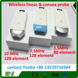 Equipos inalámbricos médica sonda de ultrasonido portátil Mslpu31 / 41/42