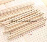 Lápiz de la promoción, lápiz de madera, lápiz de terminal de componente, fuente de oficina, pluma promocional