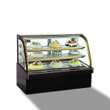 광고 방송은 전시 케이크, 케이크 진열장 냉각장치를 냉장하거나 빵집 진열장을 냉장했다
