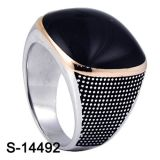 Ring van de Juwelen van de fabriek de In het groot Zilveren voor de Mens