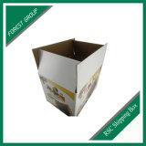 Полно напечатанные таможней двойные, котор встали на сторону коробки почтоотправителя Corrugated картона