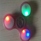 Leuchtend mit hellem Unruhe-Spinner des LED-Handspinner-Unruhe-Spielzeug-LED