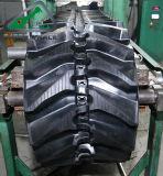 Neuer Ankunfts-Gummi spürt Spuren des Exkavator-500X71 für KOMATSU D20p auf