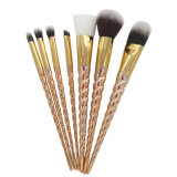 As escovas da composição/jogo de escova de cristal da composição do punho/logotipo feito sob encomenda compo escovas