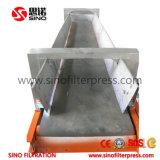 Presse automatique contrôlée par programme de filtre hydraulique de chambre avec le changement de vitesse pour le traitement des eaux résiduaires