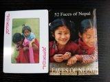 Faces de cartões de jogo do póquer de Nepal