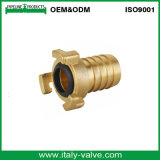 OEM & ODM Brass Thread Hose Fitting / Pipe Fitting (AV-BF-7034)