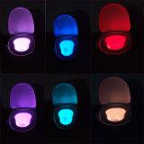 8つのカラー新しいデザインToliet LED夜ライト