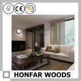 Schermo piegante di legno su ordinazione moderno in salone