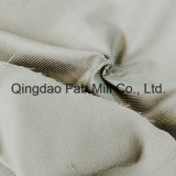 Tela orgánica de la pana del algodón de 11 País de Gales el 100% (QF16-2671)