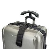 Комплект чемодана обтекателя втулки багажа серебряного серого цвета 3PC Hardside