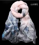 lenço de seda da impressão 100%Long para Wonmen