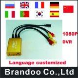 câmera do sinal HD de Tvi da sustentação do cartão de 1080P 1CH Tvi SD